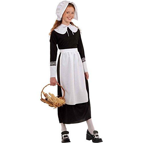 Pilgrim Girl Costume Kit - One Size