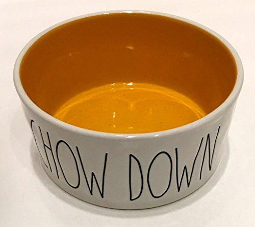 Rae Dunn Magenta CHOW DOWN Large 6