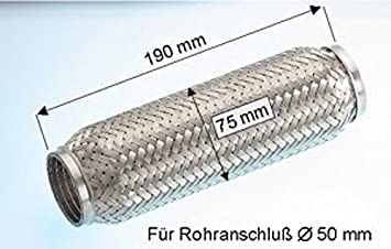 Ebersp/ächer 99.008.79 Flexrohr Abgasanlage
