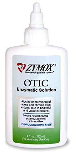 Zymox Otic Without Hydrocortisone 4 oz by Ear Care