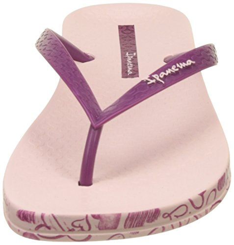 Ipanema Anatomica Soft Fem - Sandalias de dedo Mujer Rose (Pink/Bordeaux)