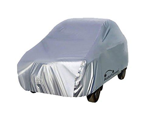Autofurnish Car Body Cover For Hyundai i10,(Silver)