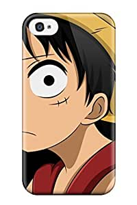 Durable Defender Case For Iphone 6 4.7 Tpu Cover(luffy 8211 One Piece)