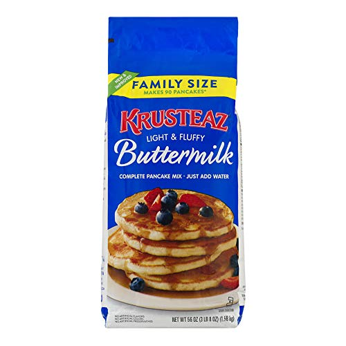 Krusteaz Pancake Mix, Buttermilk, 56 Oz ()
