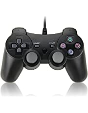 Wired Controller Dual Shock Gamepad Joystick for Sony PS2 Playstation 2