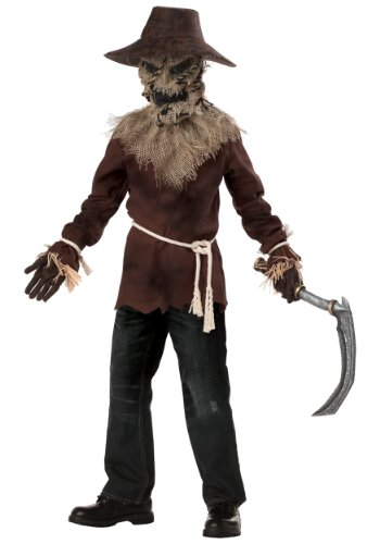 Scary Costumes (California Costumes ' Wicked Scarecrow Costume Small (6-8))