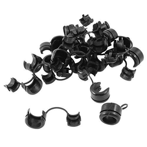 dealmux-nylon-cable-cord-tie-clip-strain-relief-bushing-12mm-dia-20pcs