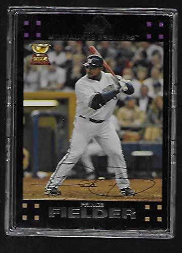 Prince Fielder 2007 Topps Baseball Card #139 - Topps All Star Rookie - Milwaukee Brewers - Stored in a Protective Plastic Display Case!!