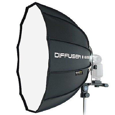SMDV Professional Softbox Dodecagon Diffuser 65 25'' for Speedlight lite Flash by SMDV