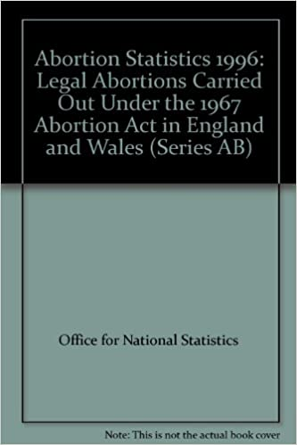 Abortion Statistics 1996: Legal Abortions Carried Out Under