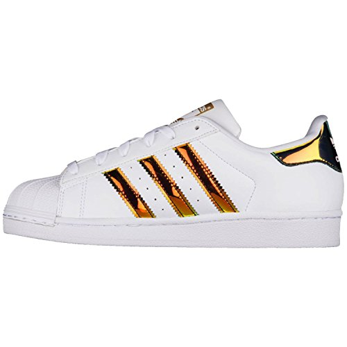 adidas Kids Originals Superstar J GS CP9837 White 5.5 Big Kids US