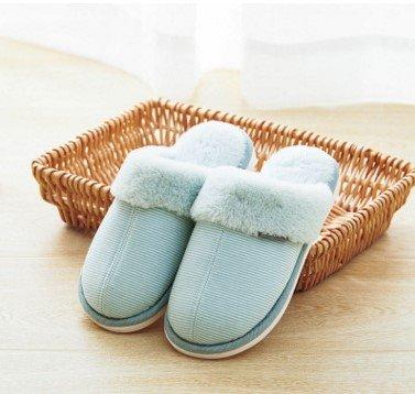 35 intérieur les les couples femmes Accueil yards d'hiver de clair hommes pour accueil en chaussons les 36 chaussons vert plancher et 250 Chaussons chaussons coton pour xZxpwqR