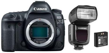 Canon EOS 5D Mark IV - Cámara réflex Digital con Zoom de Linterna ...