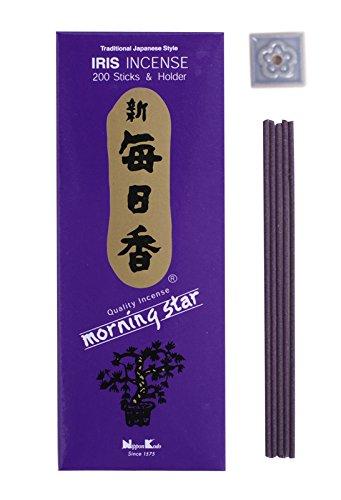 Buddha Tile Box - Morning Star - Iris 200 Sticks