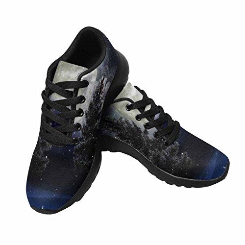 InterestPrint Womens Jogging Running Sneaker Lightweight Go Easy Walking Comfort Sports Running Shoes Multi 6 g90qAROy