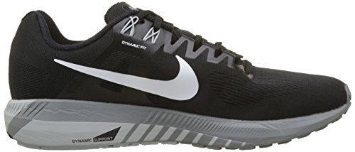 Grey Air 001 Grey Black Nero Structure 21 Wolf Zoom Cool Uomo Nike Running Scarpe White fqdPPx6