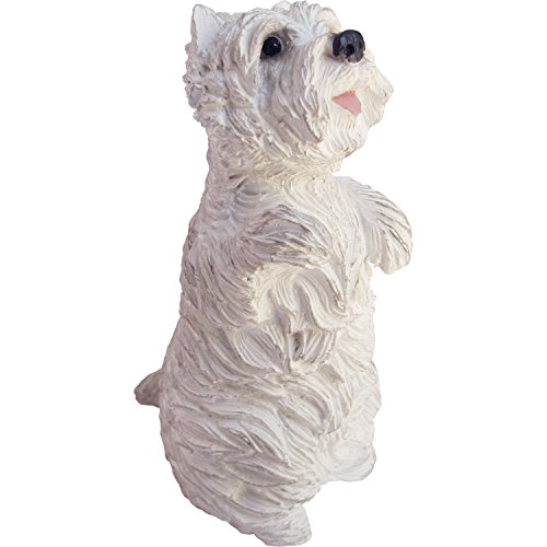 - Sandicast Sculpture, Small, Sitting Pretty West Highland White Terrier