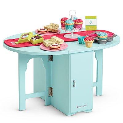 Charmant American Girl Baking Table U0026 Treats