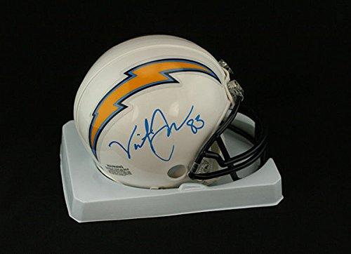 Vincent Jackson San Diego Chargers (Vincent Jackson Signed San Diego Chargers Mini Helmet - PSA/DNA Certified - NFL Football Autographs)
