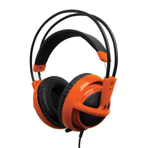 Portable, SteelSeries Siberia V2 Full-Size Gaming Headset (Orange) Color: Orange Consumer Electronic Gadget Shop by Portable4All