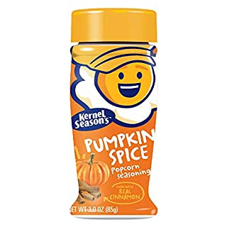 Kernel Season's Limited Edition Pumpkin Spice Popcorn Seasoning With Real Cinnamon, Pumpkin Spice, 3 Ounce (Pack Of 6)