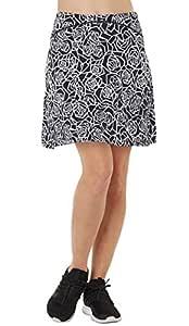 Westkun Falda de Golf Tenis Skort Mujer Negra Negra Pantalón ...