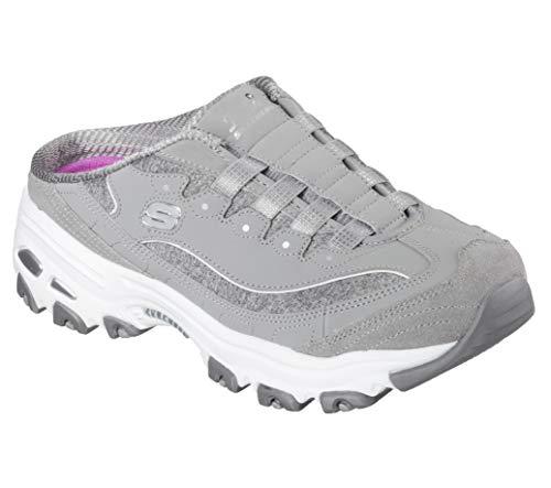 Glorious Spring (Skechers Sport Women's Resilient Fashion Sneaker, Gray/White, 8 M US)
