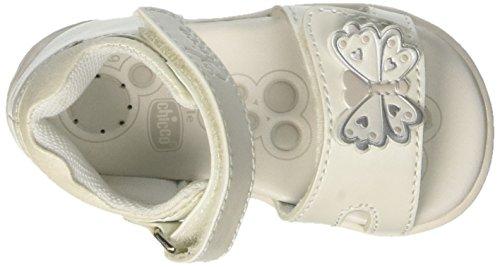 Chicco Giara, Sandalias para Bebés Blanco (Bianco)