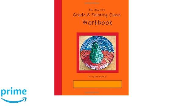 grade 8 painting class workbook