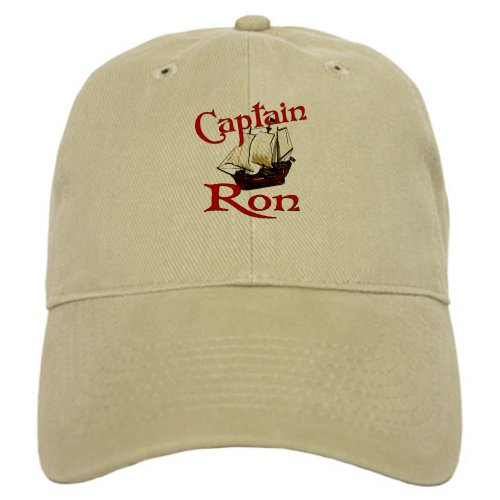CafePress Captain Baseball Adjustable Closure