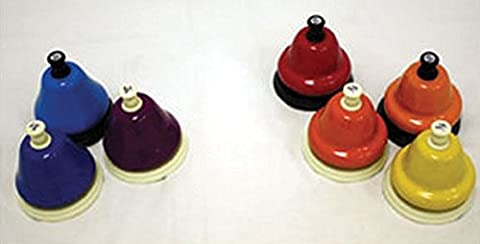 Rhythm Band 7-Note, Expanded Range Deskbell Set - Expanded Percussion