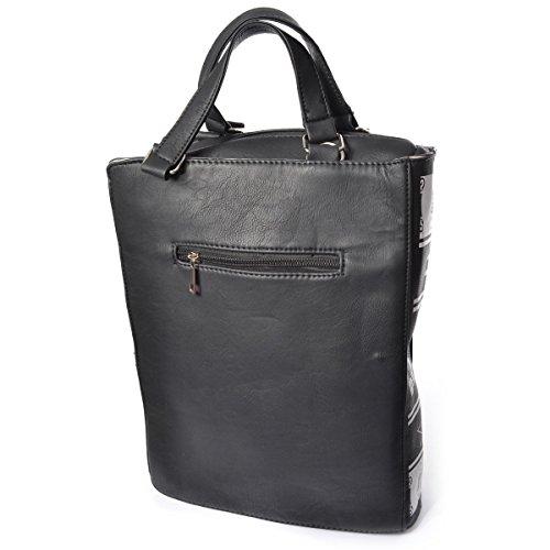 Poizen Industries , Damen Schultertasche schwarz schwarz