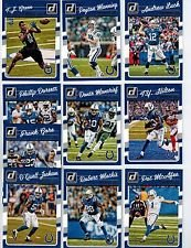 2016 Donruss Football Indianapolis Colts Team Set of 10 Cards: Andrew Luck(#124), Frank Gore(#125), Donte Moncrief(#126), T.Y. Hilton(#127), D'Qwell Jackson(#128), Phillip Dorsett(#129), Robert Mathis(#130), Pat McAfee(#131), Peyton Manning(#132), T.J. Gr