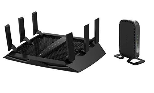 NETGEAR Nighthawk X6 AC3200 Tri-Band Gigabit Wi-Fi Router &