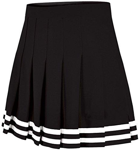 Double-Knit Knife-Pleat Cheerleading Skirt - Cheer Uniform Skirt - Womens Sizes