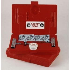 Safety Seal Auto & Light Truck Deluxe Tire Repair Kit, 60 Repairs