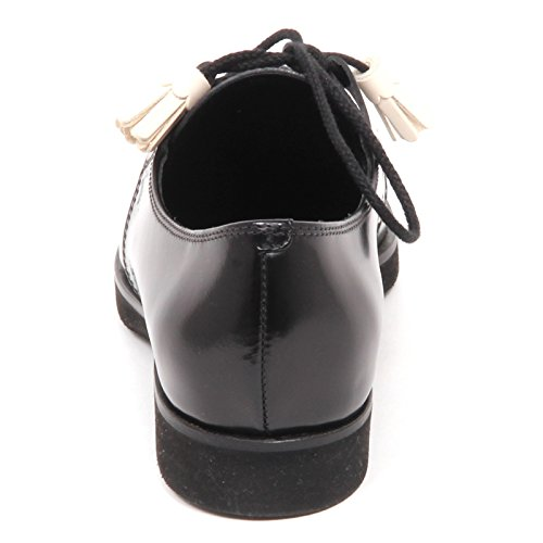 Tod's Scarpe Frange Nero E3086 Shoe XL Scarpa Gomma Donna Woman Nero ggrYaq
