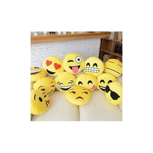 "12"" Emoji Pillow (set of 10) Assorted Emojis"