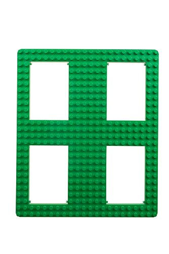 Strictly Briks Classic Big Briks Baseplate with Gaps by 100% Compatible with All Major Brands | Large Pegs for Toddlers | 13.75