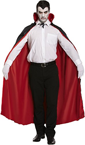 Alternative Halloween Costumes Uk (Reversible Cape Fancy Dress Costume (Red/Black))