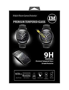 Cristal protector para Samsung Gear S2(R7320) Premium Tempered Glass Cristal de pantalla Panzer Protector de pantalla Protector de pantalla @ Energmix®