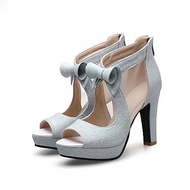 Zormey Women'S Heels Spring Summer Club Shoes Gladiator Formal Shoes Comfort Novelty Light Soles Customized Materialswedding Office &Amp; Career US5 / EU35 / UK3 / CN34
