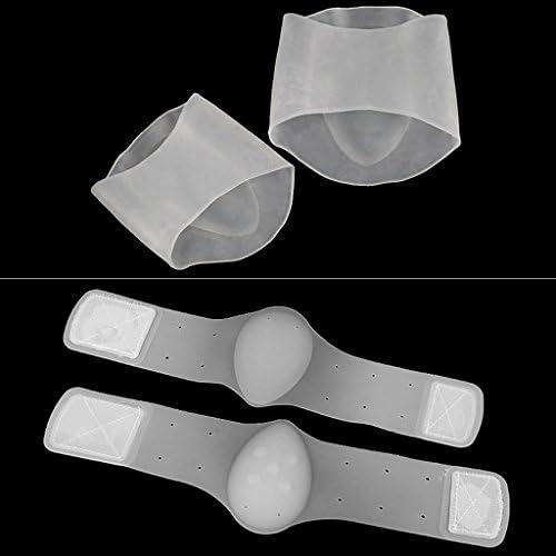 Haptian Gel Planter Fasciitis Arch Stützhülse Kissen Fußschmerzen Orthese Ferse Einlegesohle