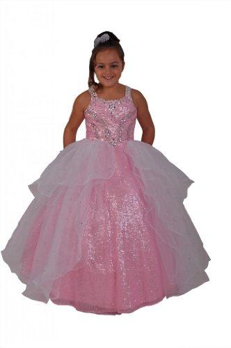 Jessidress Vestido de Fiesta Damitas de Honor Nina de Arras Flores Vestido de Ceremonia Vestido de Comunion Boda Novia Model Lana 8 años: Amazon.es: Ropa y ...
