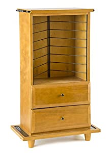 Beautiful Organized Fishing Storage Cabinet For Fishing Rod And Tackle Storage