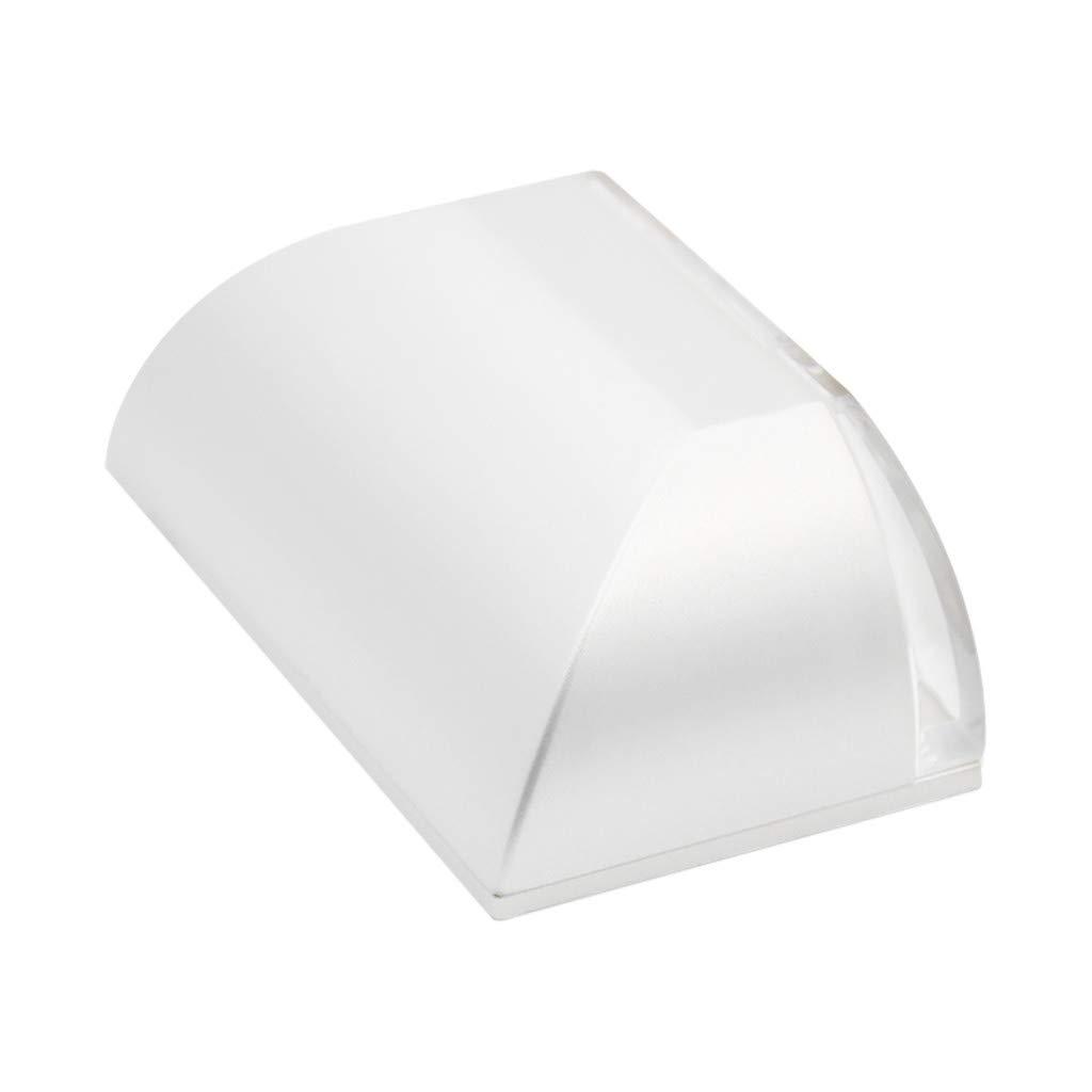 Quaanti Door Lock Light with 4 LED, Keyhole Light LED Intelligent Door Lock Cabinet,Key Induction Small Night Light Auto Sensor Lamp for Key Hole, Door Lock, Bedroom, Stairway (White) by Quaanti (Image #3)
