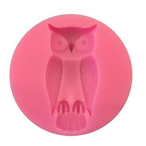 TamPa Fondant Sugar Silicone Cake Chocolate Mould Baking Craft Halloween Wedding Birthday Party Home Decor (Owl)