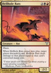 Used, Magic: the Gathering - Hellhole Rats - Dissension for sale  Delivered anywhere in USA