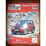 RRTA0553.3 - REVUE TECHNIQUE AUTOMOBILE SUZUKI et SANTANA VITARA 4 Cylindres Essence et Diesel