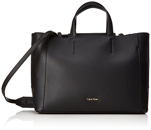 Calvin Klein Metropolitan Tote - Bolsos totes Mujer Negro (Black)